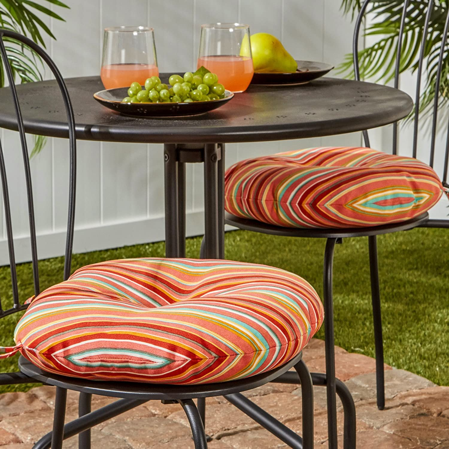 Amazon.com: Greendale Home Fashions 15 pulgadas. Cojín ...