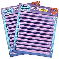 Sani Sticks - Limpiador de drenaje y desodorizador, como se ve en la televisión, Lavanda, Paquete de 24