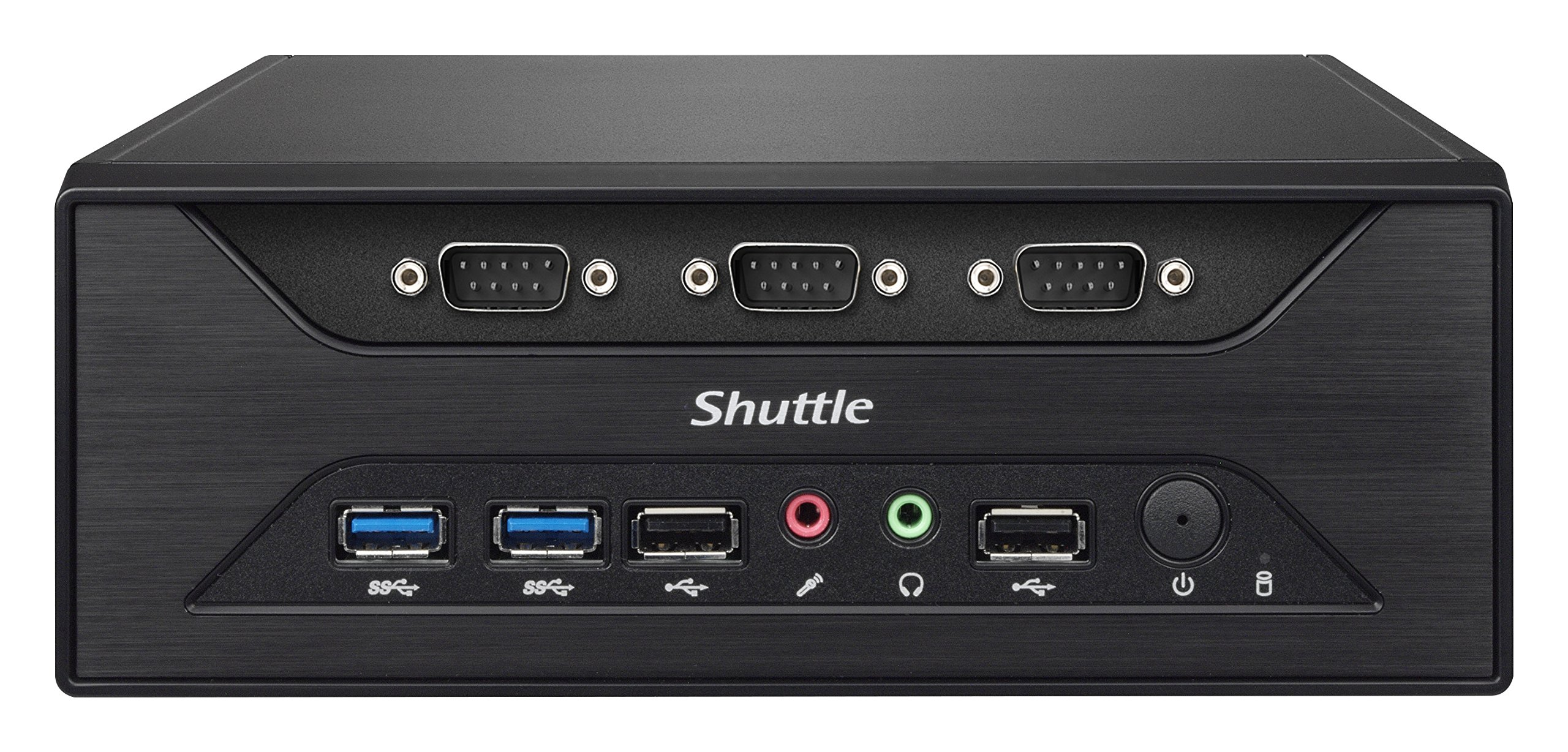 Shuttle XPC Slim XC60J Intel Celeron J3355, 8 x COM Ports, Support SODIMM DDR3L (Max. 16GB), Include Heatpipe Cooling Module by Shuttle (Image #4)