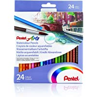 Pentel CB9-24-EST Lapices acuarelables 24 piezas