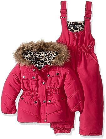 lowest price 696cd 9a069 Steve Madden Baby Mädchen 2 Stück Parka Jacke und ...