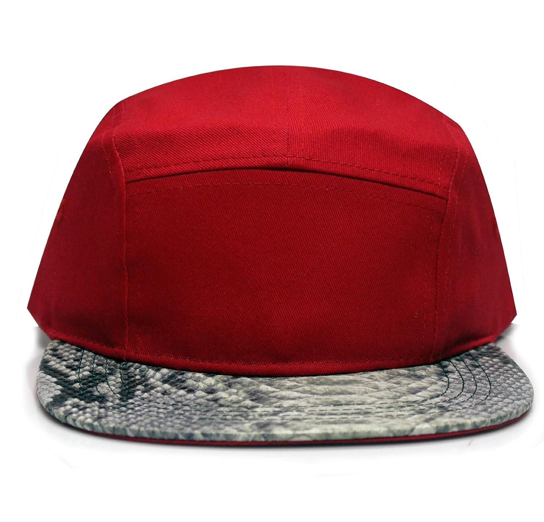 11 Colors City Hunter Cn290p Plain Snake Skin 5 Panel Hat