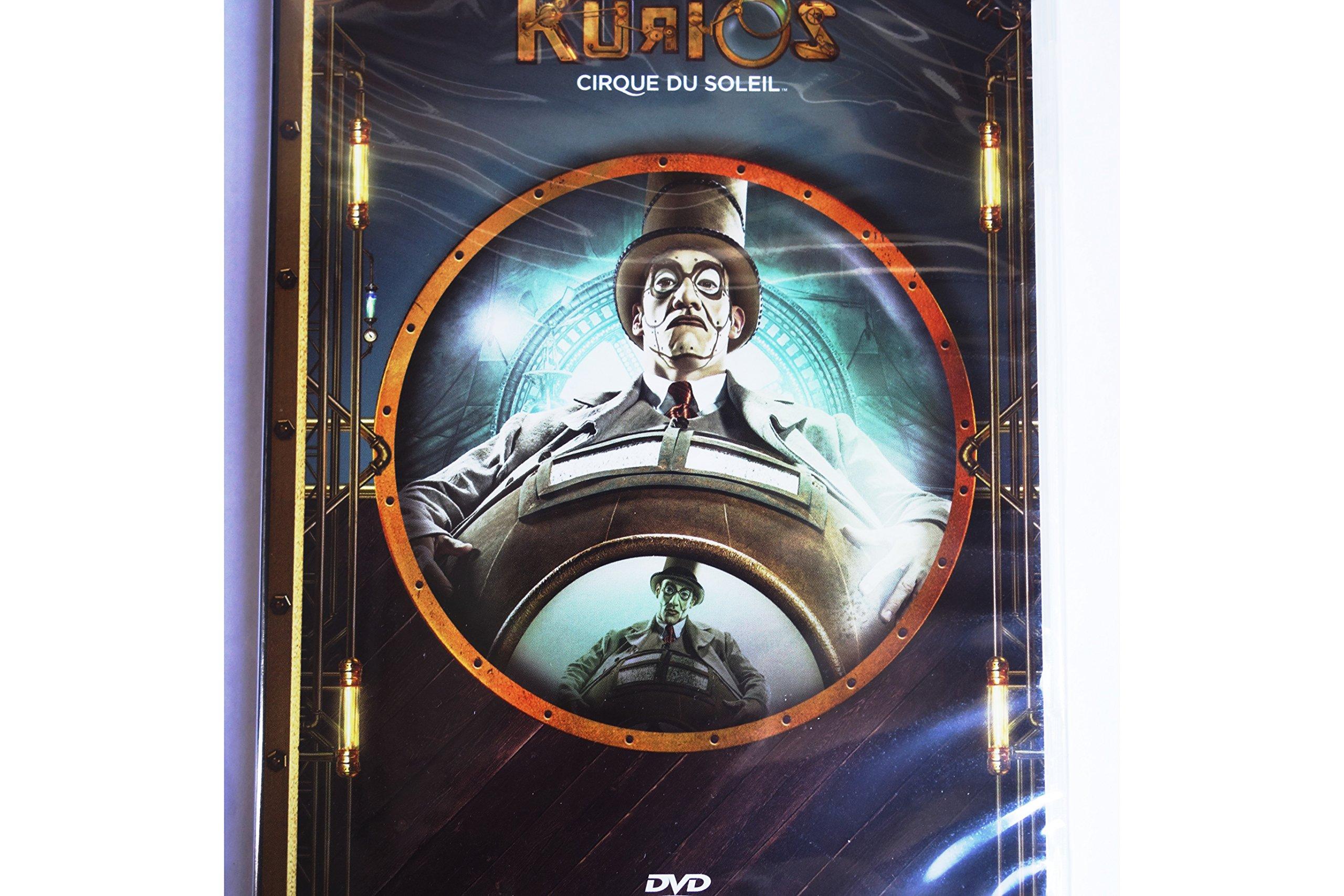 Cirque du Soleil KURIOS Circus Retro futurism retro future Daihatsu 2017 Michel Laprise DVD by