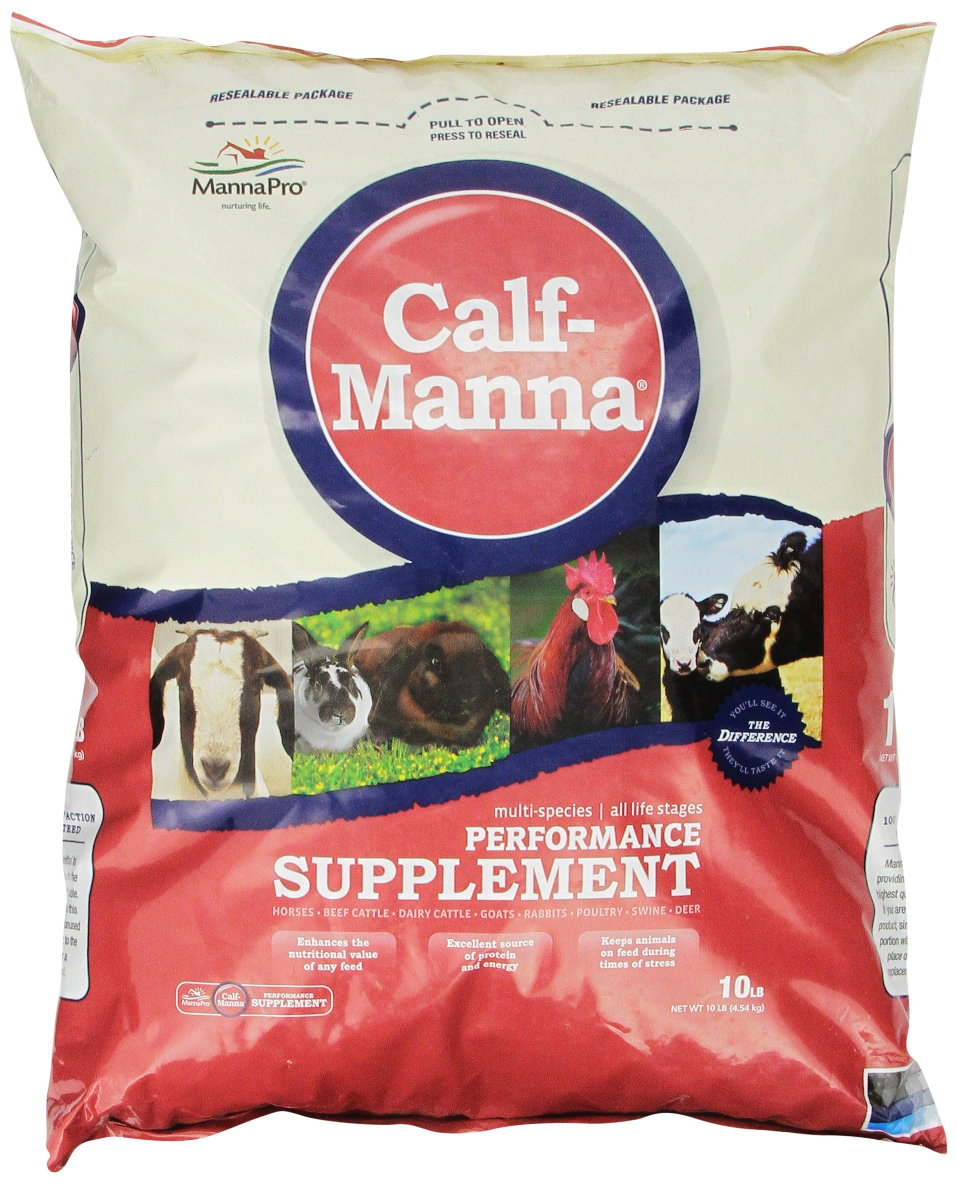 Manna Pro 0093982232 Calf-Manna Ultimate Multi-Species Performance for Animals, 10-Pound by Manna Pro