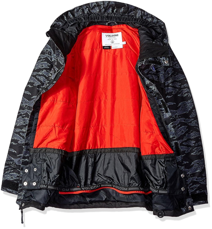 80ae2dc3a93b Amazon.com  Volcom Big Boys  Elias Insulated Jacket  Clothing