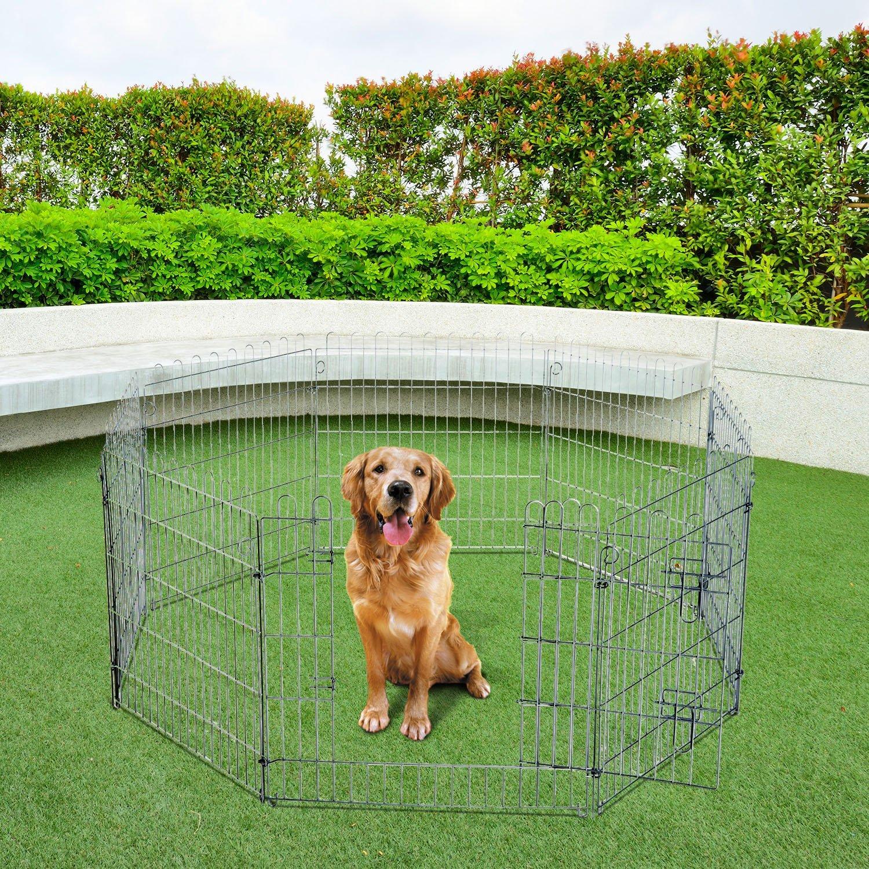 Parque para Cachorros Valla para Cachorros Animales Rejilla Medidas 63 x 91 CM: Amazon.es: Jardín