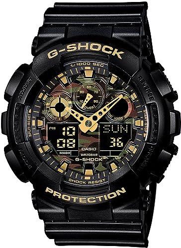 [カシオ]CASIO腕時計G-SHOCKCamouflageDialSeriesGA-100CF-1A9JFメンズ