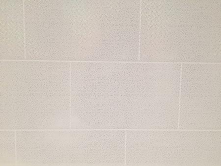 Le Revetement Store Cutline Blanc Pluie Effet Carrelage De Salle De Bain Panneaux Muraux De Douche En Pvc Humide Un Revetement Mural Blanc Amazon Fr Bricolage