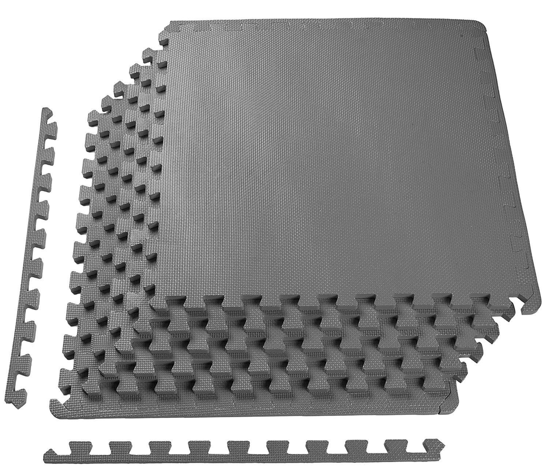 2019公式店舗 Puzzle Exercise Mat Mat with EVA with Foam Interlocking (blue, Tiles 61cm 1.3cm 6枚セット, 12枚セット, 36枚セット Black/Gray/Blue トレーニング用ジョイントマット (blue, 12枚セット) B07BGFSZL8 gray 6枚セット 6枚セット|gray, カワイムラ:432a41c4 --- arianechie.dominiotemporario.com