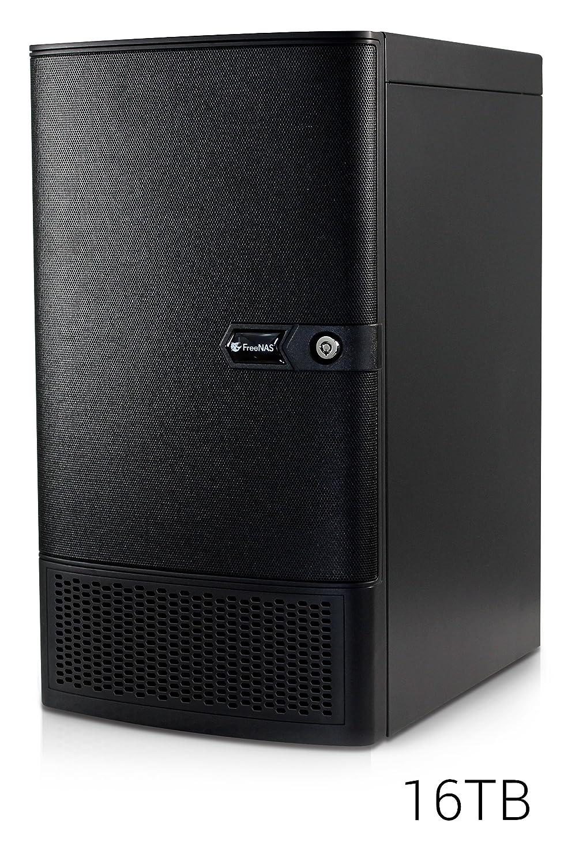 FreeNAS Mini XL (16TB) 8 Bay Compact NAS Storage with ZFS. 8-Core 2.4GHz Processor, 32GB RAM