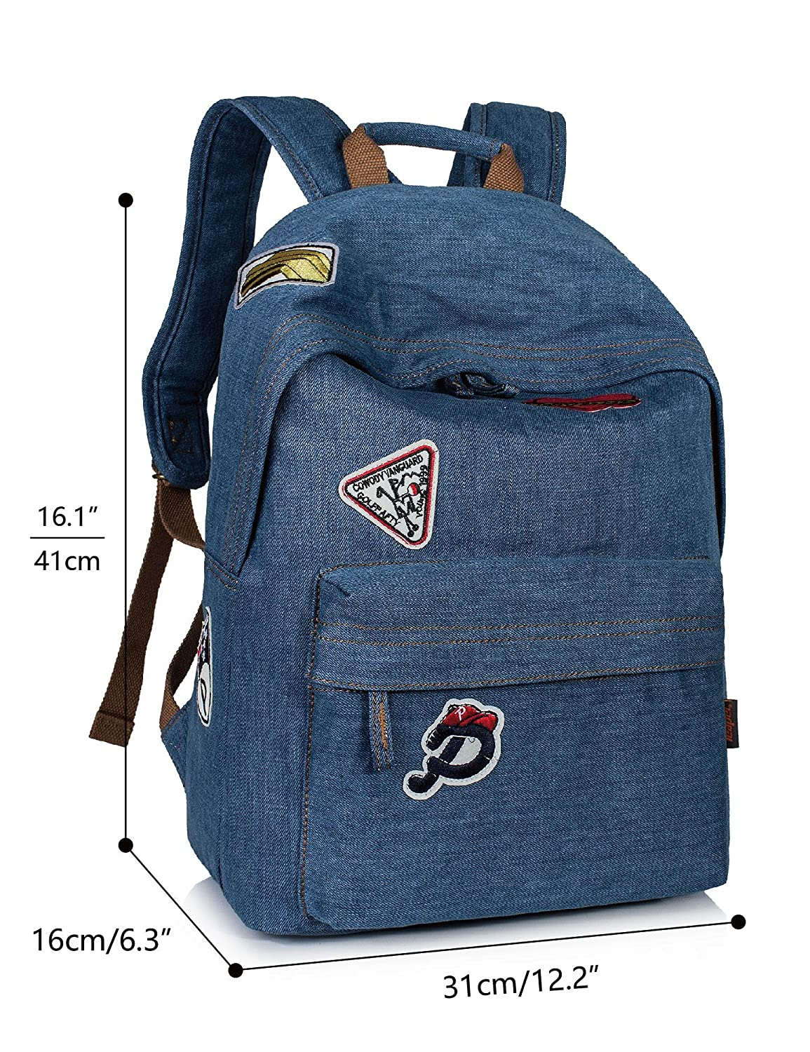 bfa6acc35b8 Vintage Denim Backpack – Patmo Technologies Limited