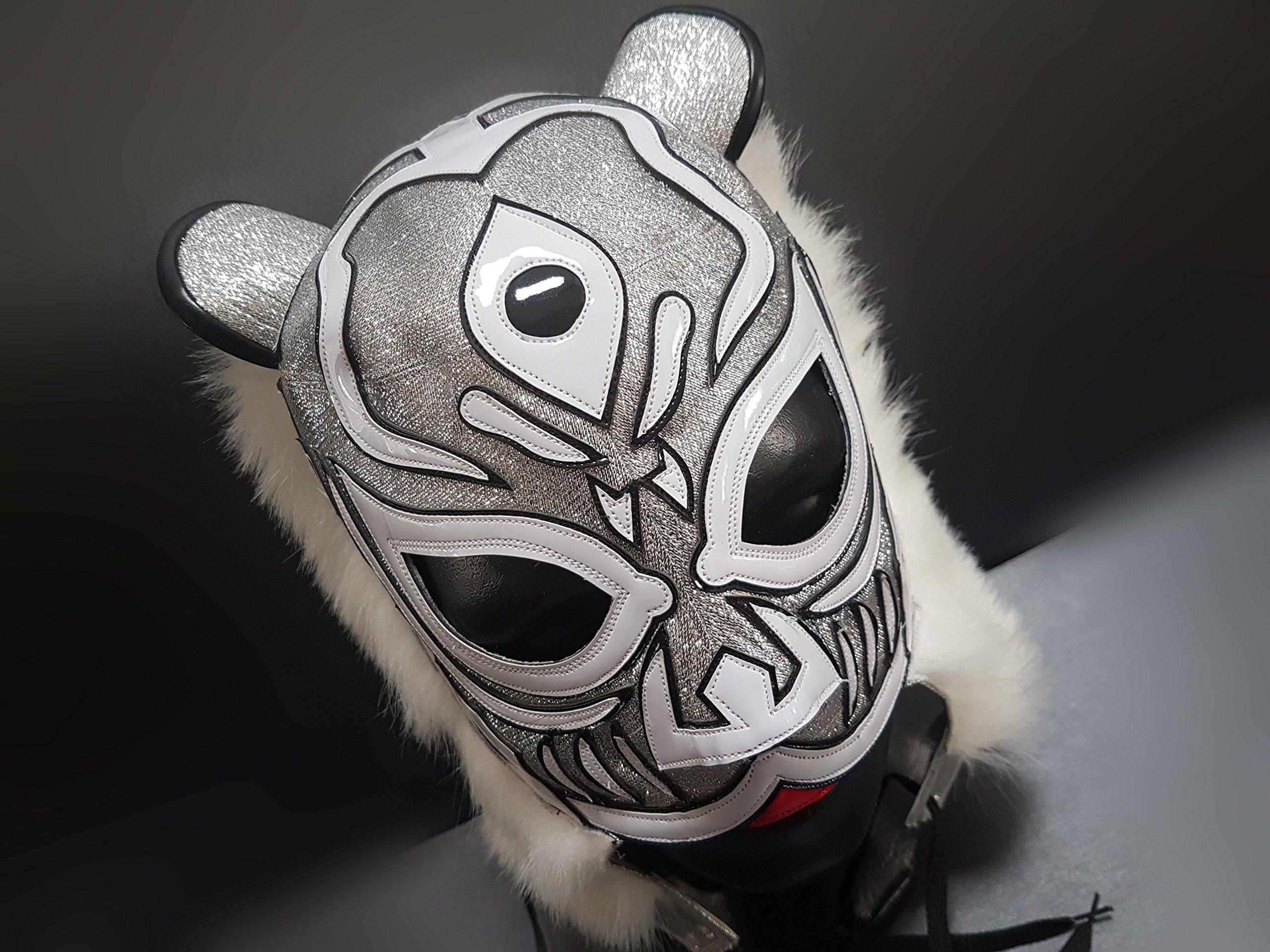 TIGER MASK MASK WRESTLING MASK LUCHADOR COSTUME WRESTLER LUCHA LIBRE MEXICAN MASKE