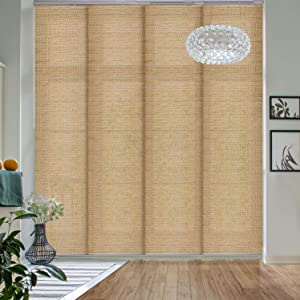 GoDear Design Deluxe Adjustable Sliding Panel Track Blind 45.8