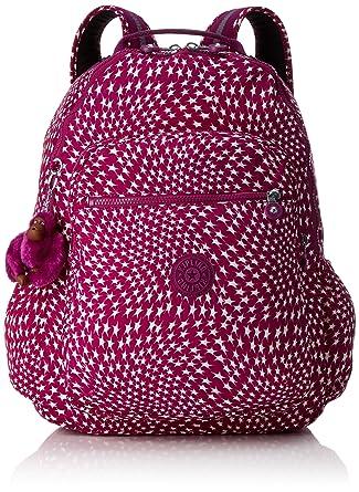 Amazon.com: Kipling Seoul Up Large Backpack With Laptop Protection Star Swirl: Clothing