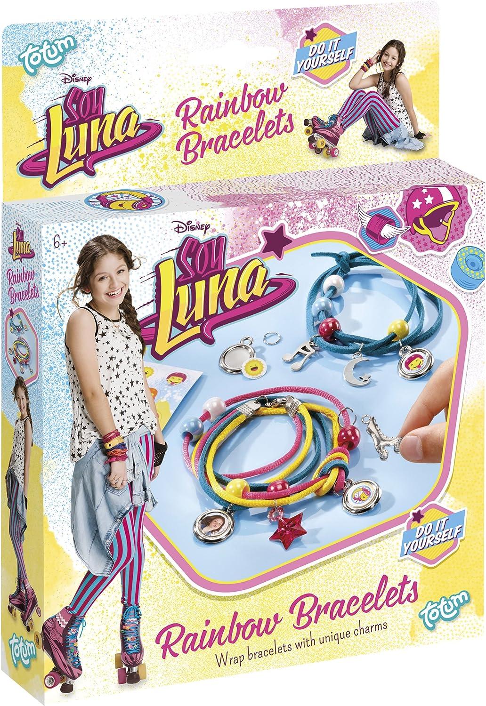 Totum bj800007 – Rainbow pulseras – Kit decorativo – soy Luna Disney , color/modelo surtido: Amazon.es: Juguetes y juegos