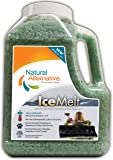 Natural Alternative® Ice Melt Another NATURLAWN® Product - 9 LB Shaker Jug - Safer for Pets, Property & the Environment