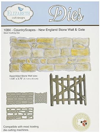 Amazoncom Elizabeth Craft Designs 1084 Metal Die Country Scape