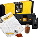 Gewürzset Curry - Die perfekte Geschenkidee für Geniesser - das ideale Geschenk für alle Curry-Liebhaber - Kräuter - und Gewürzmischungen mit Rezepten zum Nachkochen - Geschenkset - Weihnachtsgeschenk