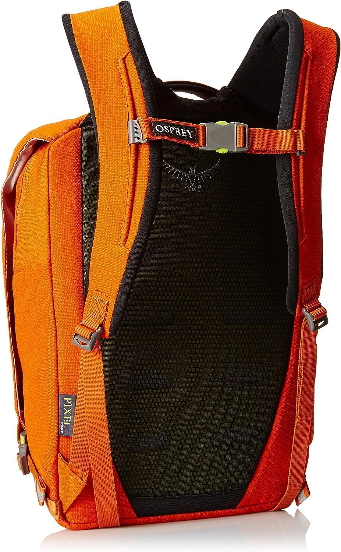 Spring 2016 Model Osprey Packs Pixel Port Daypack Canyon Orange
