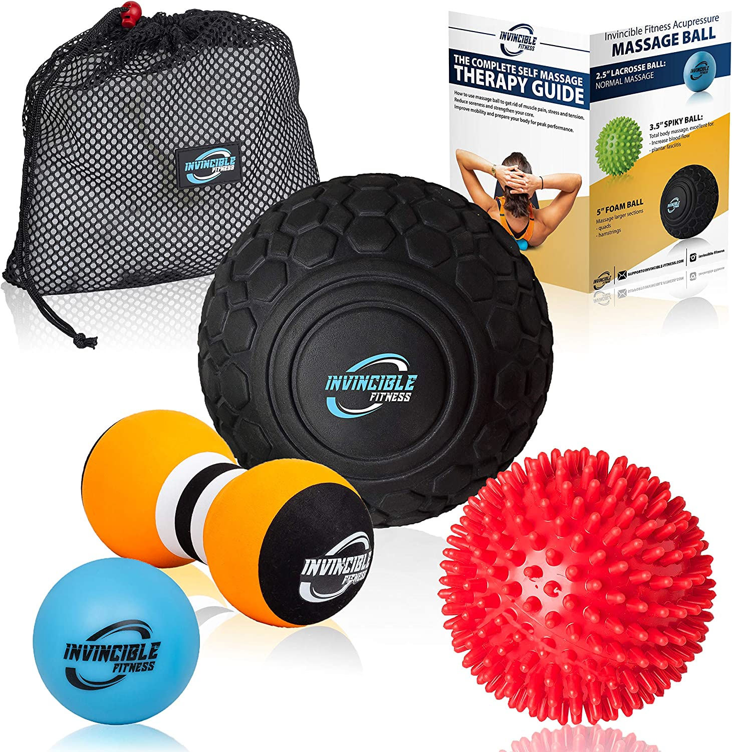Deep Limited time for free shipping Tissue Max 67% OFF Massage Ball Set - Includes Foam Mobility Roller 5