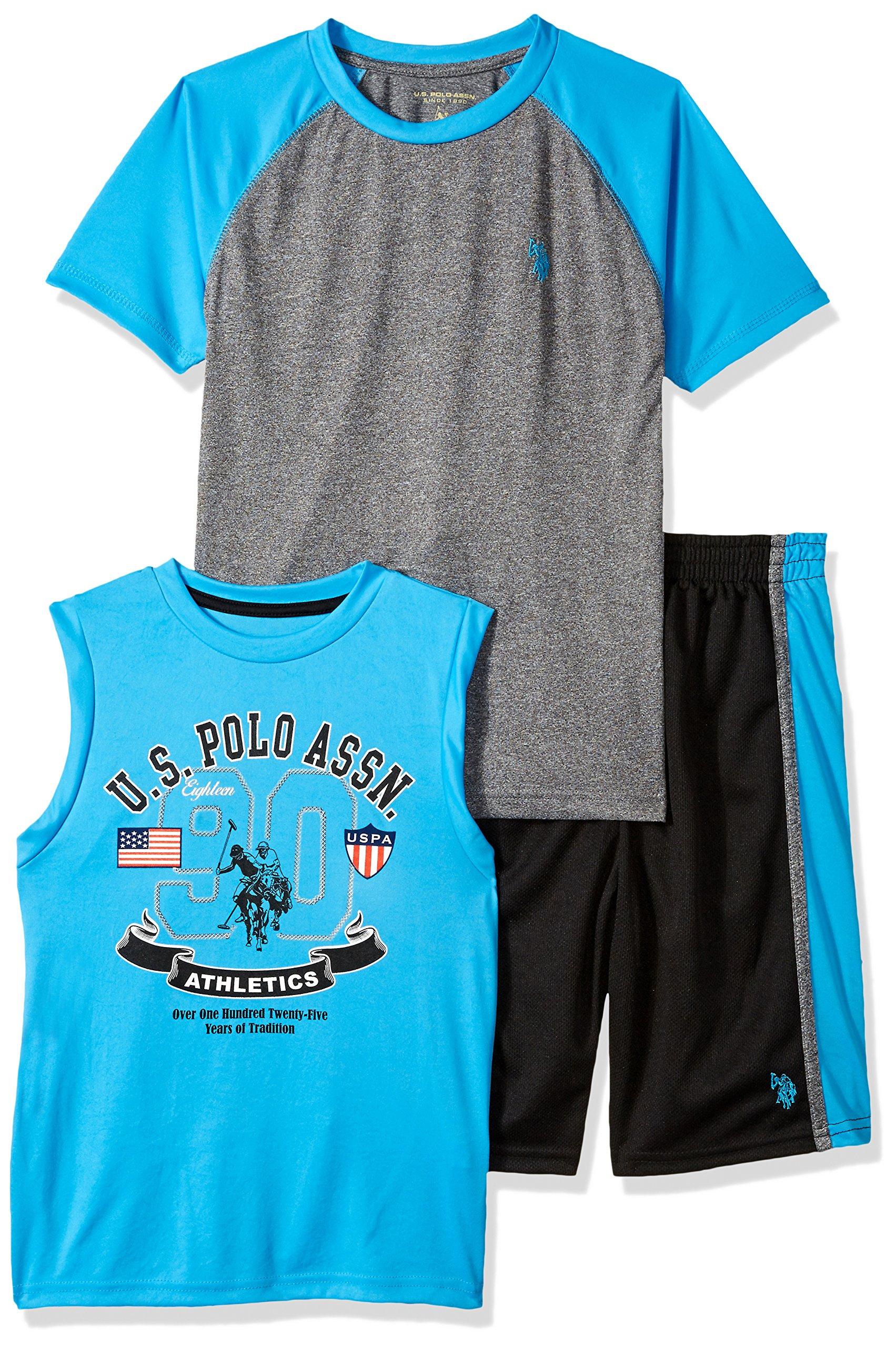 Polo Assn U.S Tank and Short Set Boys T-Shirt