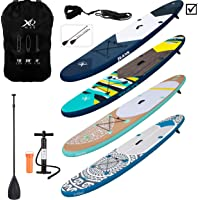 XQ Max INFLATABLE SUP PADDLE BOARD KAYAK 10FT WITH ACCESSORIES