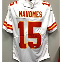 $899 » Patrick Mahomes Kansas City Chiefs Autograph Signed White Nike Jersey Licensed Limited Stitched White Jersey Fanatics Certified