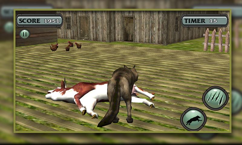 Simulador de lobo 3D - juego de simulación de escape Animal: Amazon.es: Appstore para Android