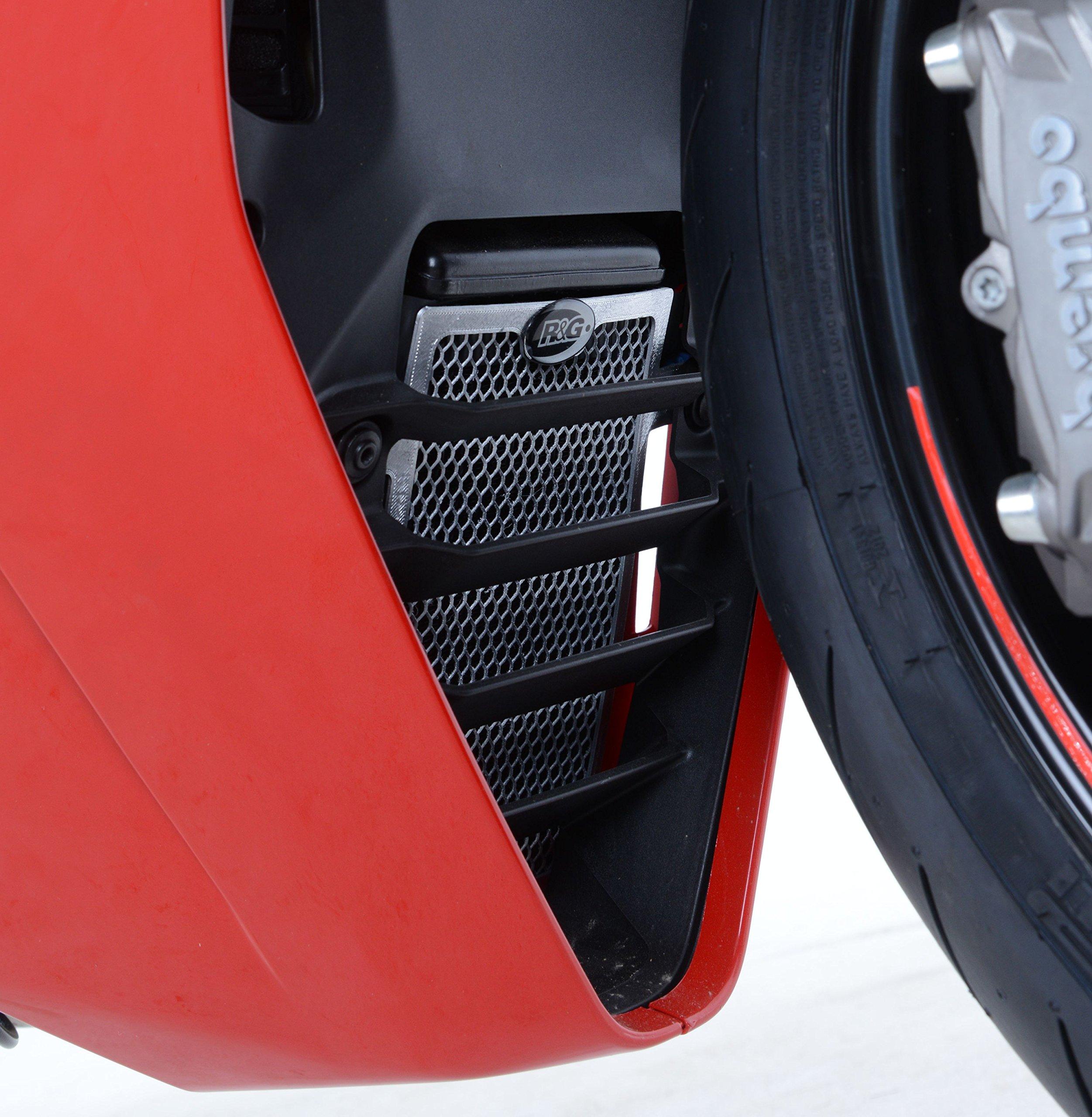 R&G Oil Cooler Guard, BLACK, Ducati Supersport (S) '17-