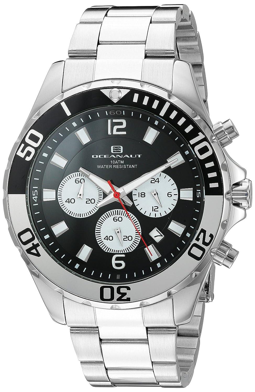 Oceanaut   -Armbanduhr  Analog  Quarz Edelstahl OC2524_Black -Silver