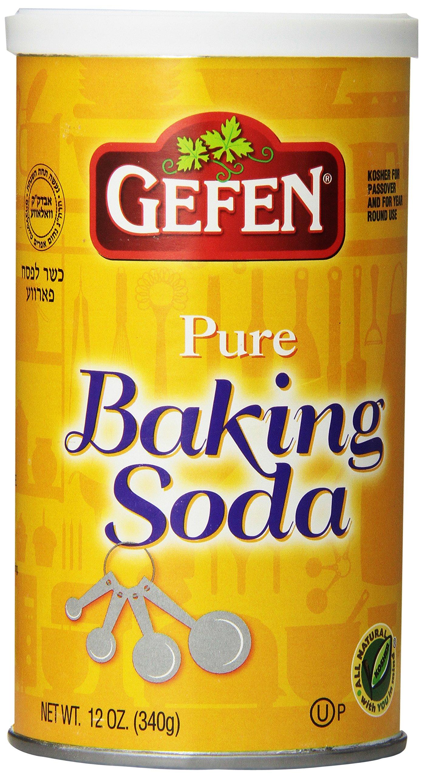 Gefen Baking Soda, 12 Ounce (Pack of 24) by Gefen (Image #1)