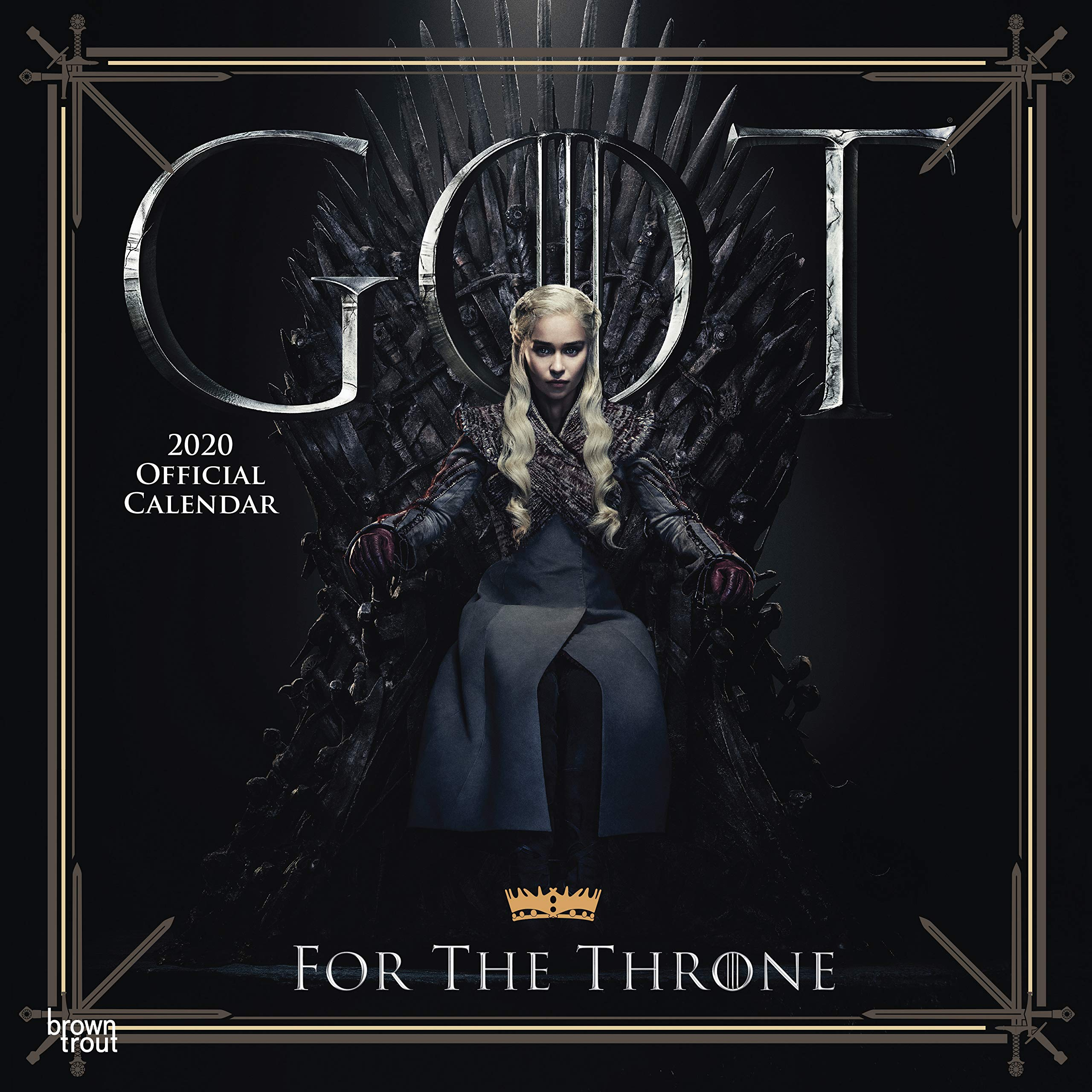 Game of Thrones 2019 Square Wall Calendar