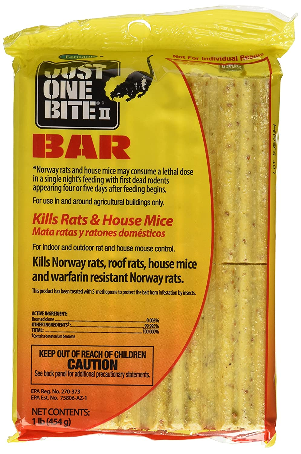 Old Cobblers Farnam Just One Bite 16oz. Bait Bar
