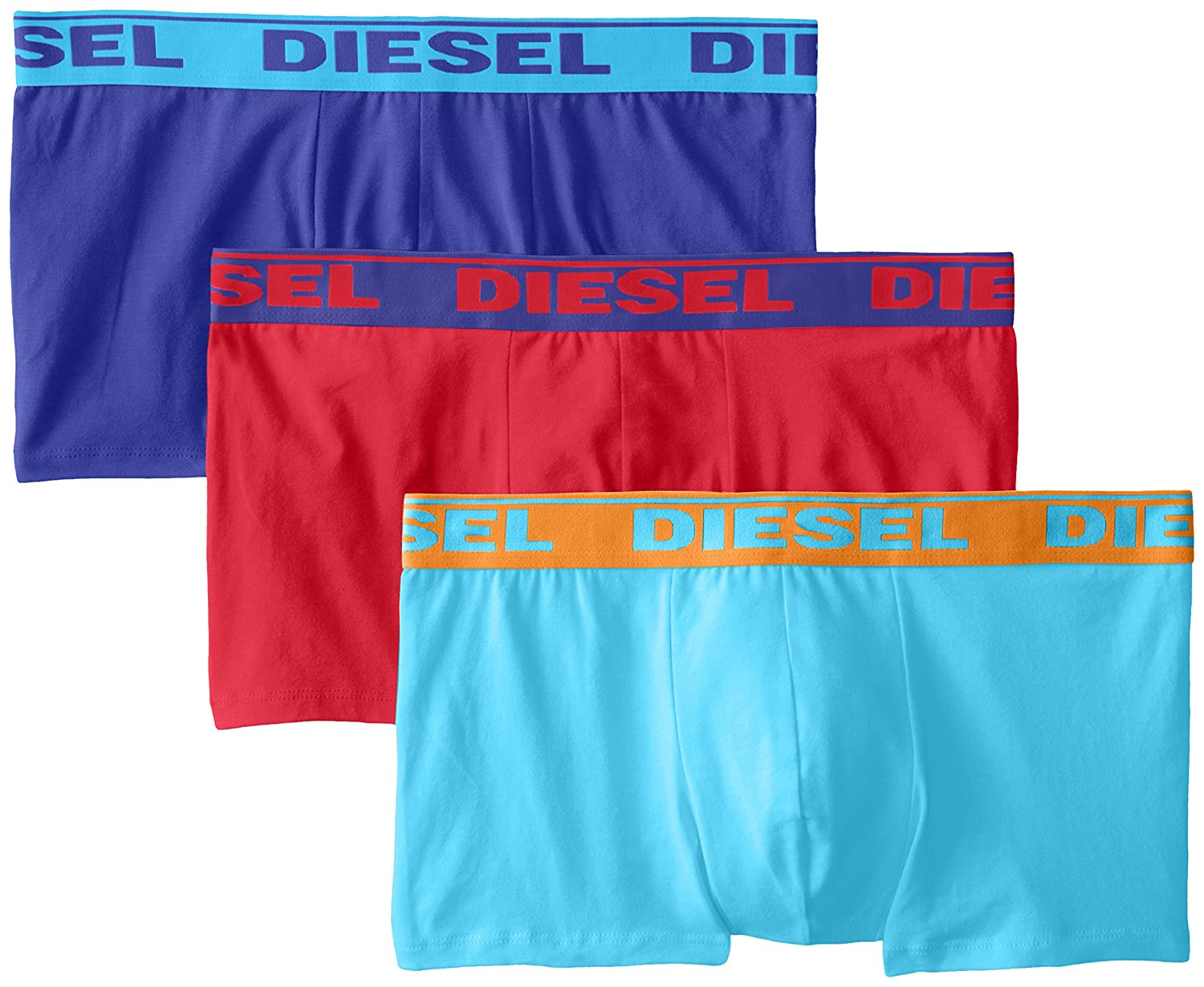 Diesel Men's Umbx-Shawnthree Boxer, pack of 3