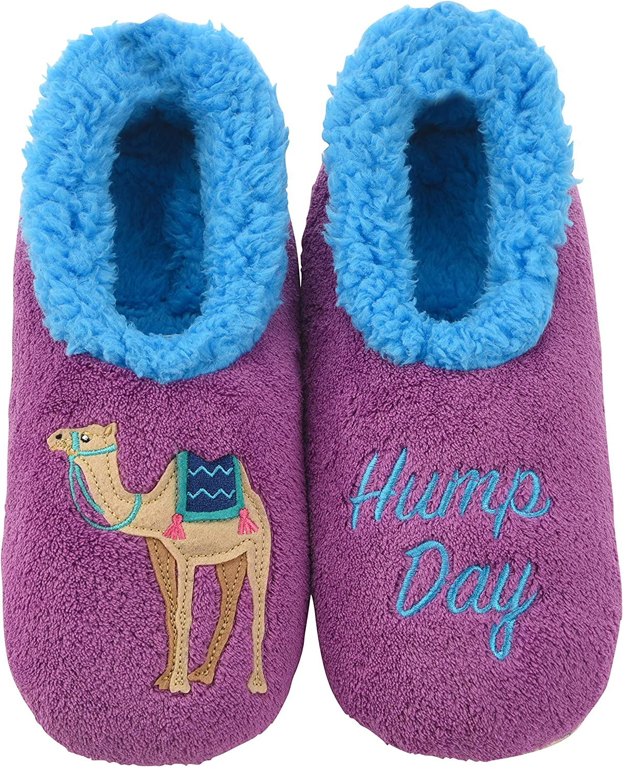 Snoozies Pairables Womens Slippers - House Slippers - Hump Day