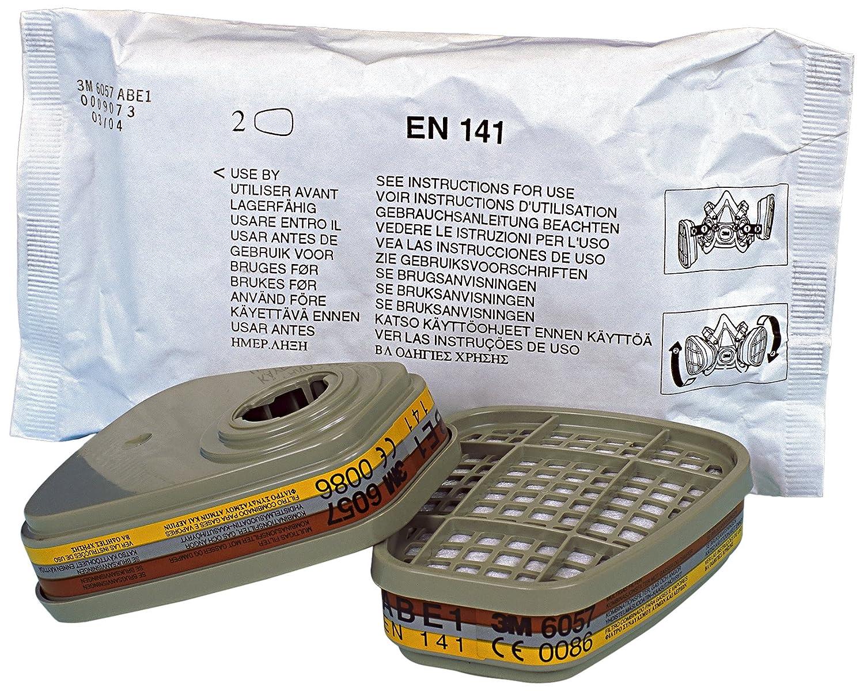 Filtre antigaz et vapeurs ABE1 3M/™ 6057