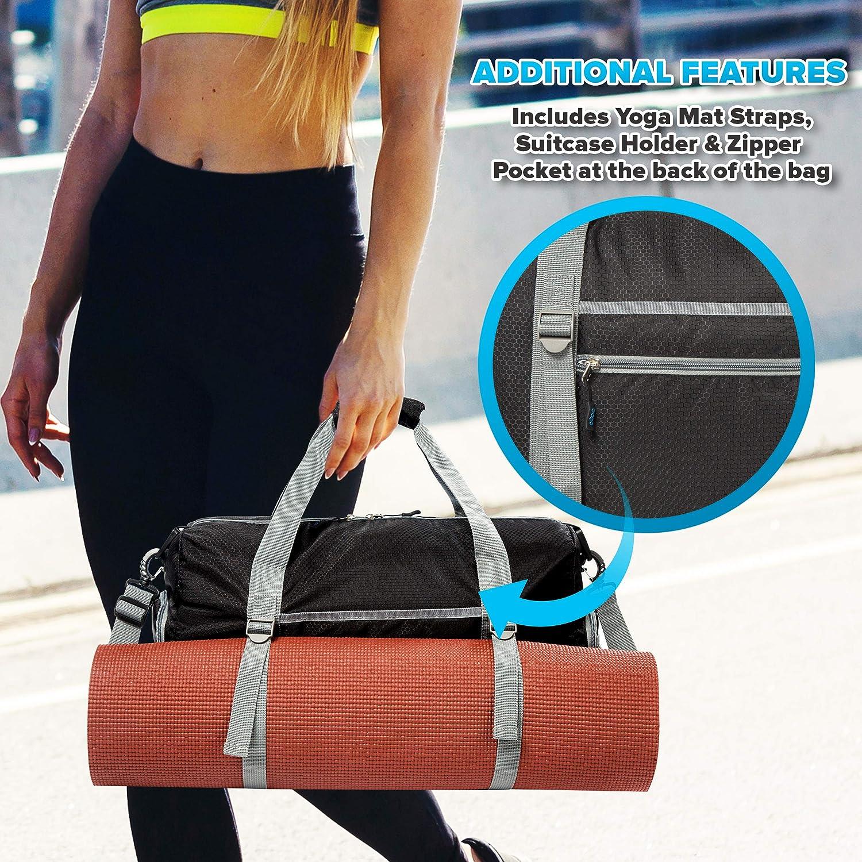 Amazon.com: Bago - Bolsas de gimnasio para mujer y hombre ...