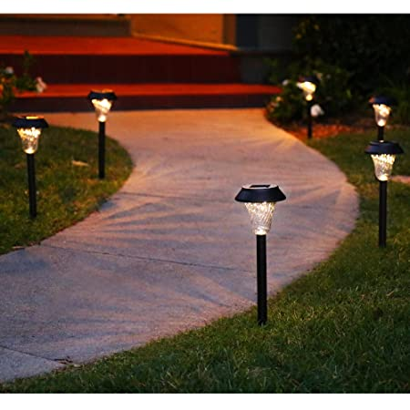 front facing enchanted spaces solar path lights