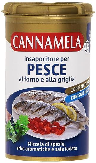 Cannamela – insaporitore para pescado, al horno y la parrilla ...