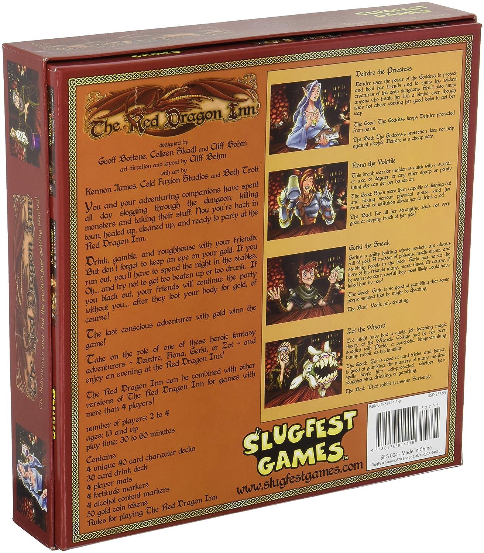 Amazon.com: SlugFest Games Red Dragon Inn Board Game: Toys & Games