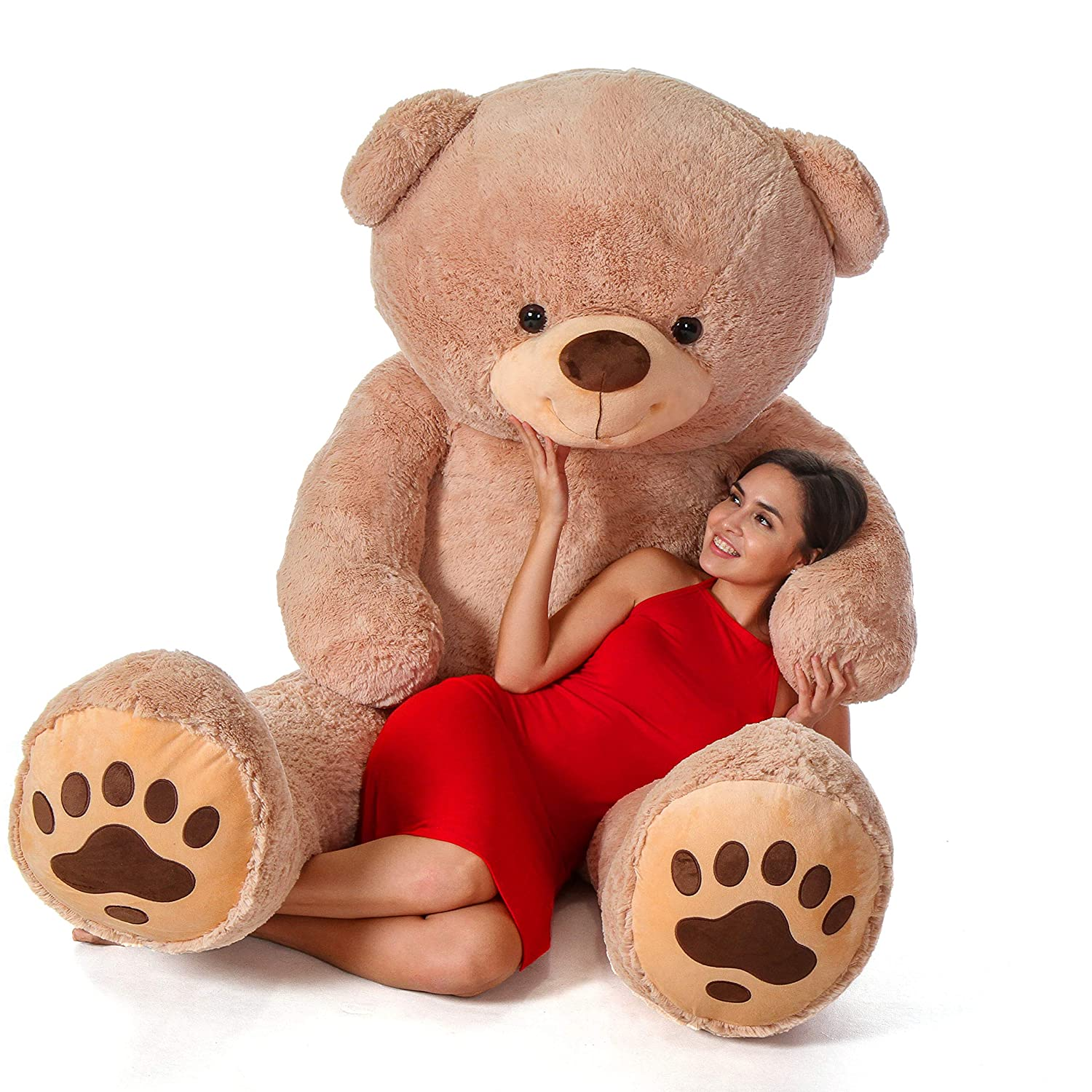 5c49118a7ef6 Buy Giant Teddy Teddy & Hugs Brand Bear (7 Foot) Online at Low Prices in  India - Amazon.in