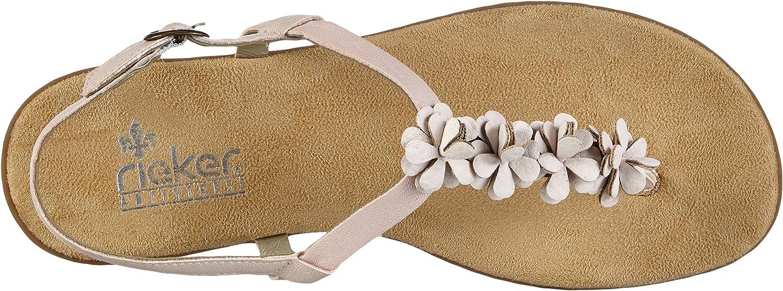 Rieker Damen 64281 Zehentrenner: : Schuhe & Handtaschen OogMX