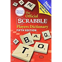 The Official Scrabble Players Dictionary, 5th Edition, (Jacketed hardcover) 2014 copyright