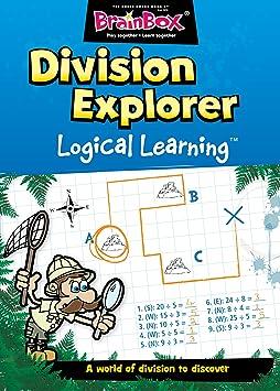 Brain Box - Division Explorer, Juego de Mesa en inglés (47054): Amazon.es: Juguetes y juegos
