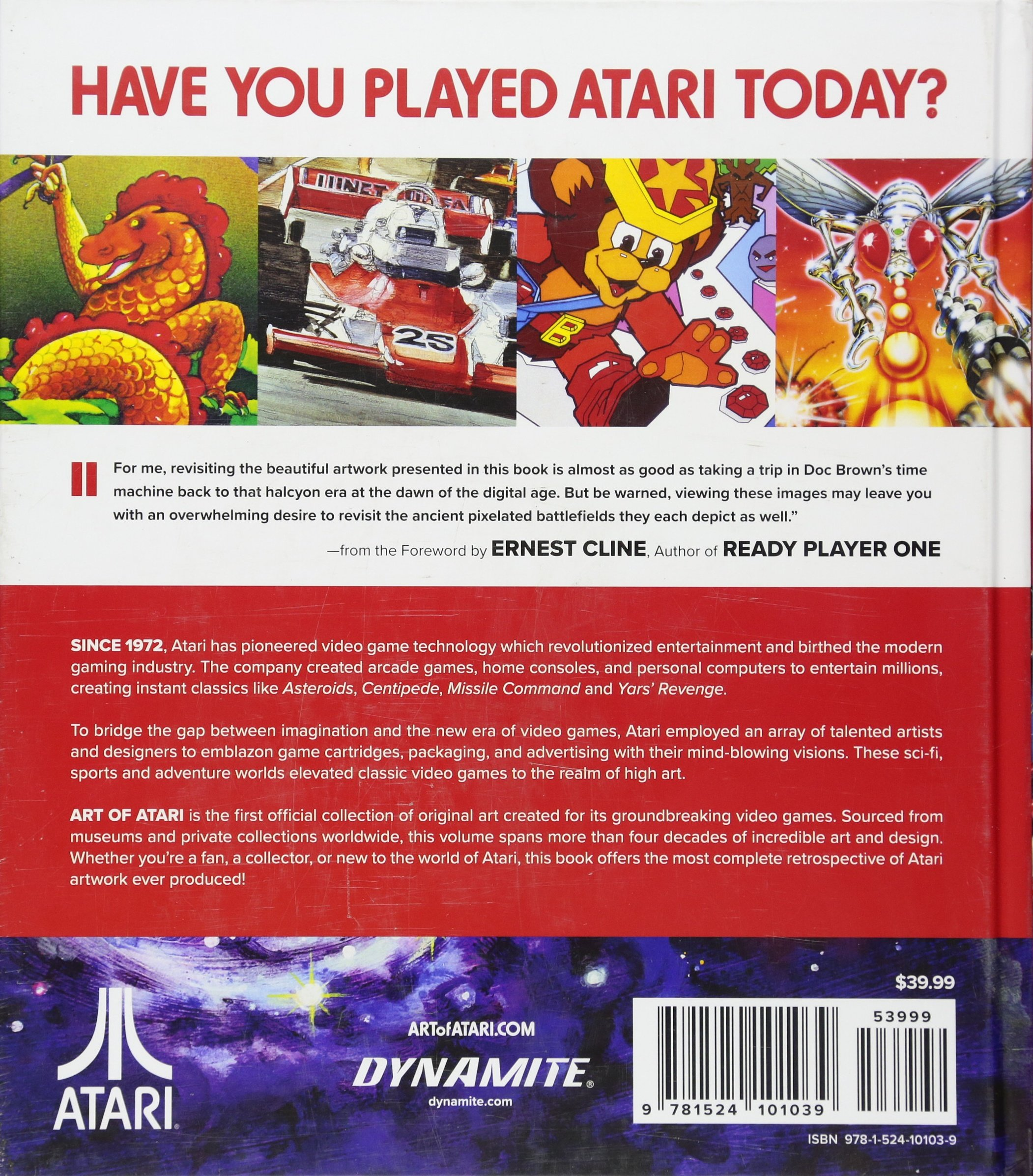 Art of Atari: Tim Lapetino: 9781524101039: Amazon com: Books