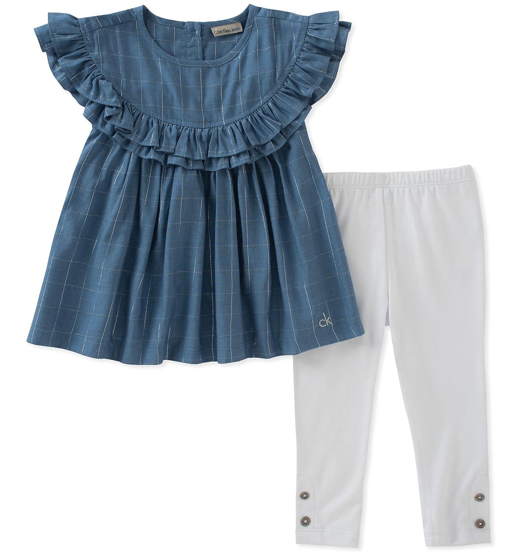ベストセラー Calvin Klein PANTS ベビーガールズ 24 Klein B0749R92C3 Months ブルー Months/ホワイト B0749R92C3, 【ギフ_包装】:929c23e5 --- a0267596.xsph.ru