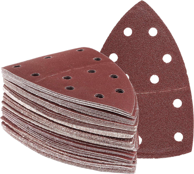 105 x 152 mm K/örnungen gemischt je 30 x Korn 40//60//80//120//180//240 180 Blatt Klett Prio-Schleifpapier f/ür Multischleifer Schleifpapier//Schleifscheiben
