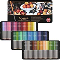 Cezanne Professional Colored Pencil Set of 120 Colors, Artist Quality Soft Core Leads for Drawing, Art, Sketching…