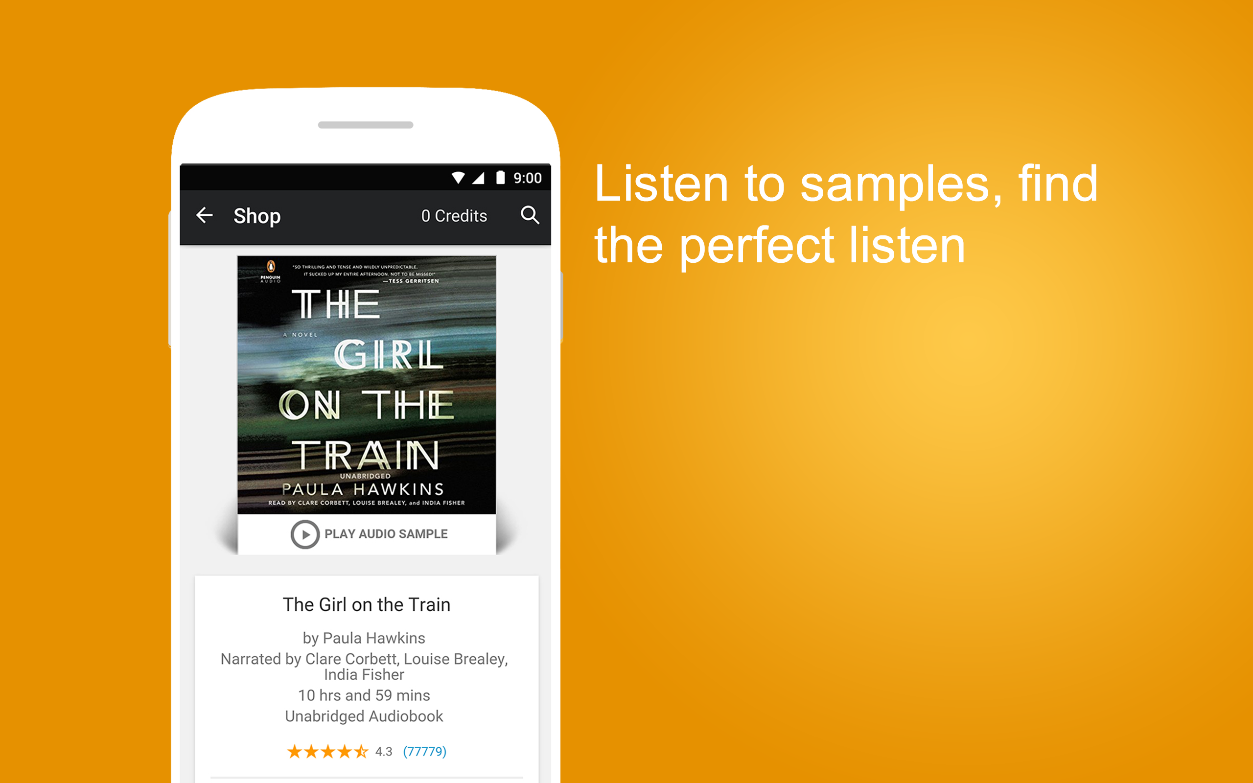 Audible - Audiobooks & Podcasts for Android: Amazon.es: Appstore ...