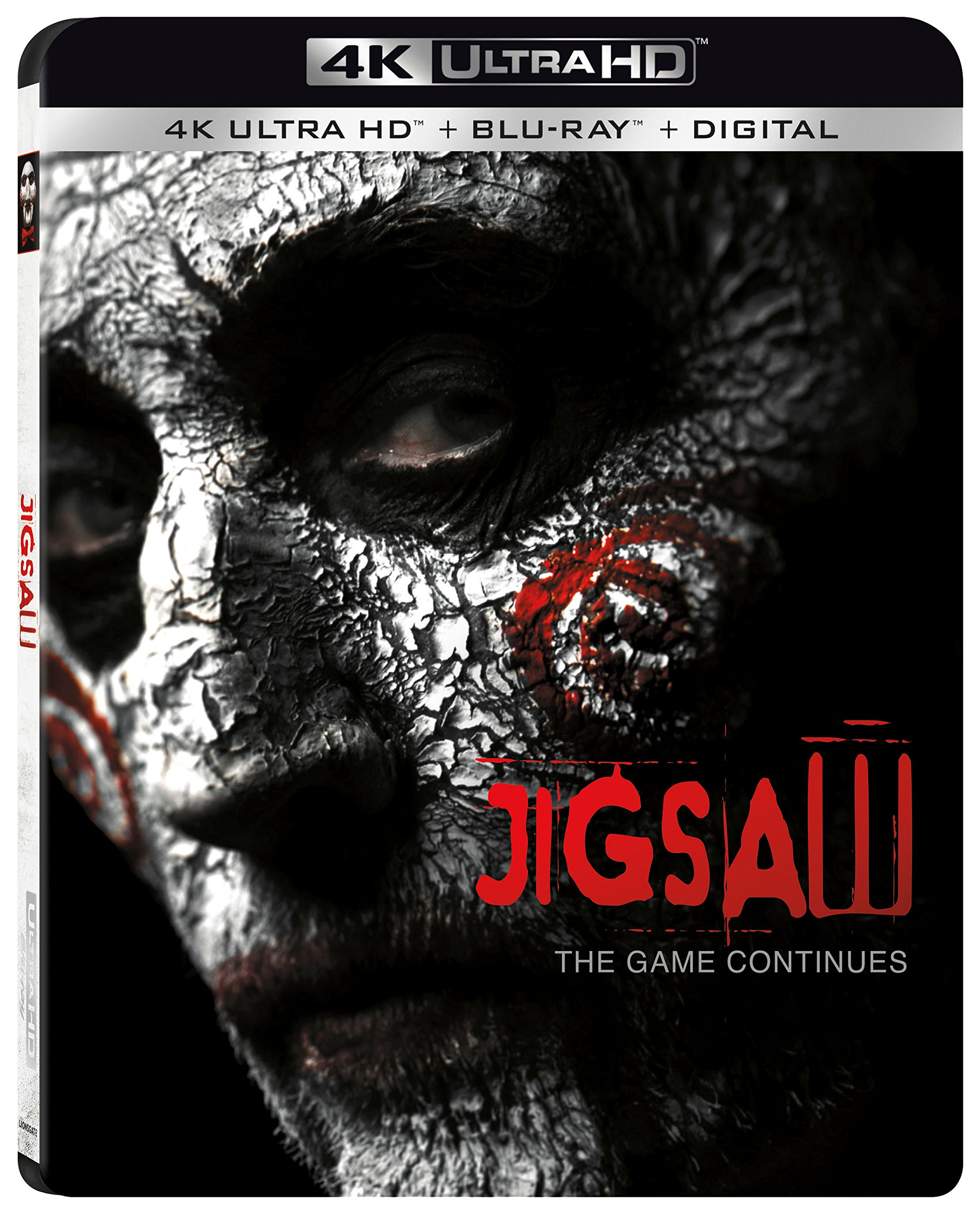 4K Blu-ray : Jigsaw (With Blu-Ray, Ultraviolet Digital Copy, 4K Mastering, Dolby, AC-3)